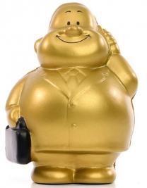 SQUEEZIES® Gold Bert®